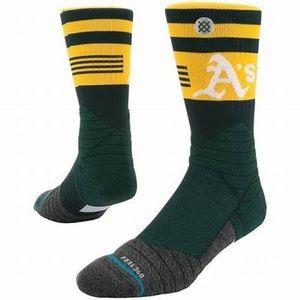 Stance Oakland A's Socks - NWT